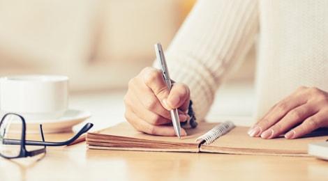Group writing beginner image